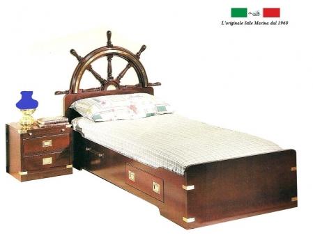 Letto marina legno la scelta giusta variata sul design for Il corsaro arredamenti
